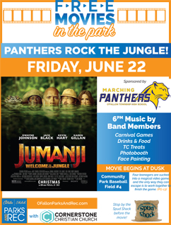 OTHS Panthers Rock the Jungle - Movie in the Park Night